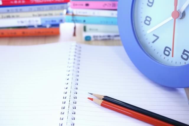 ブログ開始からの予備試験勉強時間